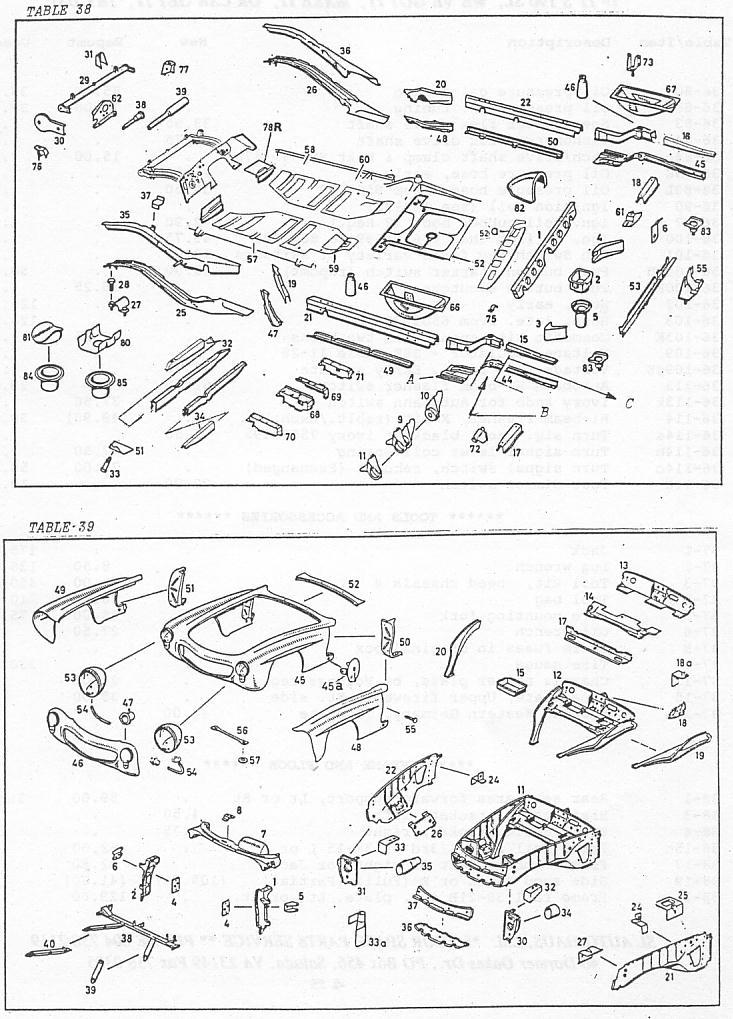 190sl Parts Catalog Sl Autohaus